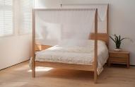 Oasis koka gultas
